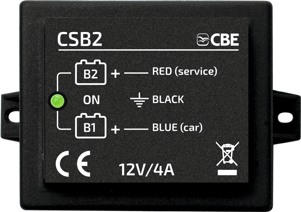 CSB2 Automatic charger for car battery