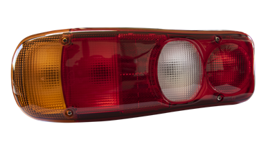 Rear light complete left