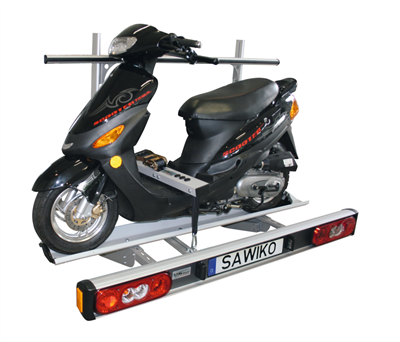 Scooter step board tensioning system