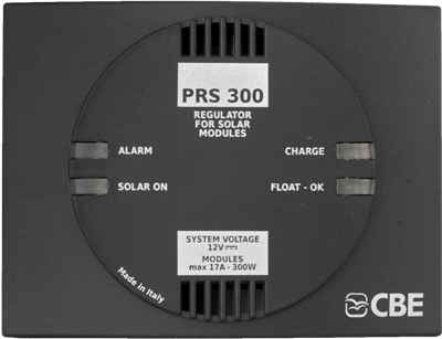 PRS300 Solar charge controller for 12V PV modules