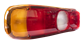 Rear light glass left/right
